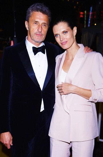 Małgorzata Bela i Paweł Pawlikowski w Cannes 2019