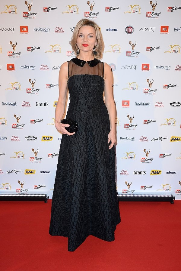 Małgorzata Foremniak na gali Telekamery 2017