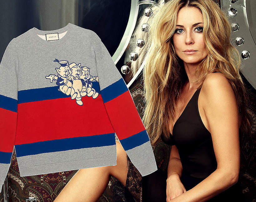 Małgorzata Rozenek-Majdan w bluzie Gucci