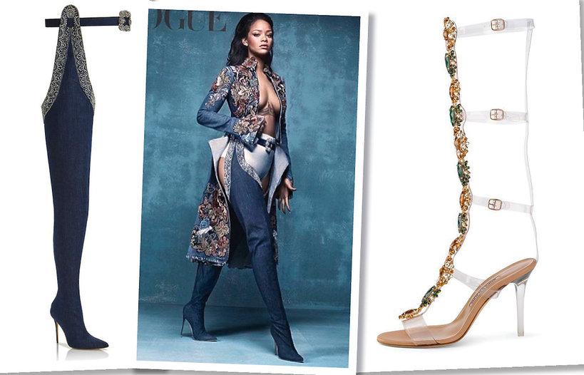 Manolo Blahnik i Rihanna kolekcja butów