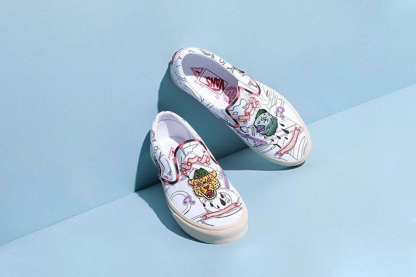 Marc Jacobs zaprojektował buty dla marki Vans