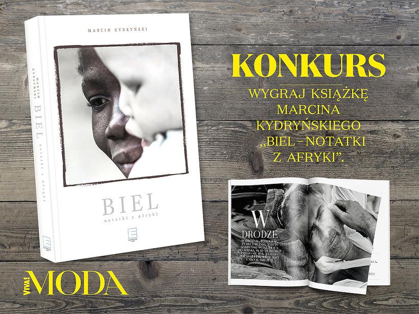 Marcin Kydryński w magazynie VIVA! MODA- konkurs