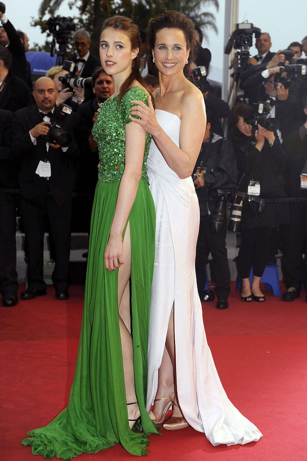 Margaret Qualley i Andie MacDowell