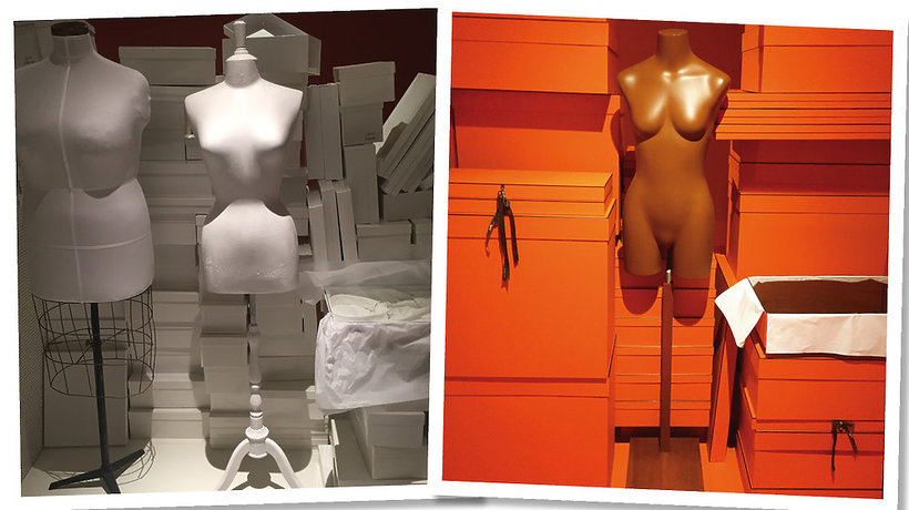 """Margiela: The Hermès Years"", MoMu, Antwerpia, wystawa"