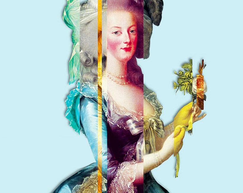 """Maria Antonina Wystawa w Paryżu """"Marie-Antoinete: Métamorphoses d'une Image"""" La Conciergerie"""