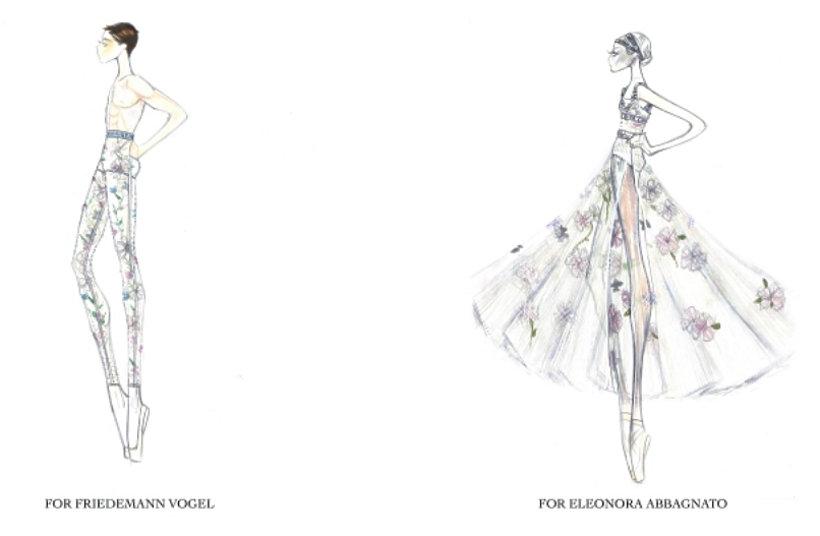 Maria Grazia Chiuri z Diora zaprojektowała  kostiumy do baletu