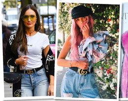 Za sprawą domu mody Gucci paski z dużym logo wracają do łask! Wybraliśmy 6 najbardziej stylowych!