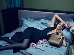 Marion Cotillard w kamoanii marki Dior jesień/ zima 2015/16
