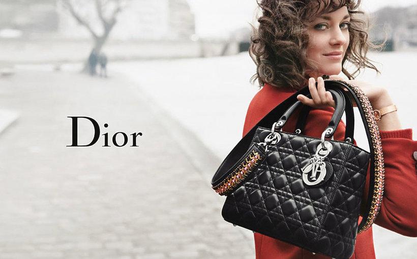 Marion Cotillard w kamoanii marki Dior wiosna 2016
