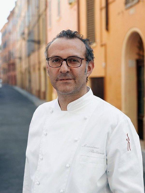 Massimo Bottura szef restauracji Osteria Francesca w Modenie