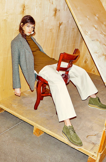 Max Mara sesja mody w męskim stylu w VIVA! MODA zima 2018