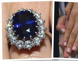 Meghan Markle, księżna Kate zaręczynowe pierścionki