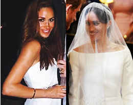 Czy coś łączy suknie Meghan Markle z pierwszego i drugiego ślubu?