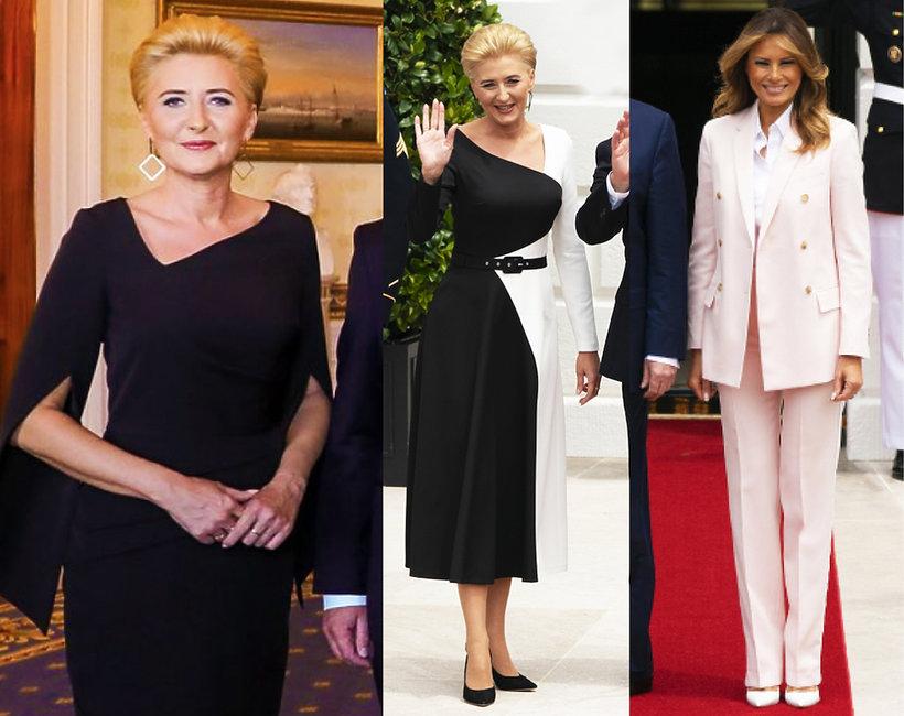 Melania Trump Agata Duda w Białym Domu
