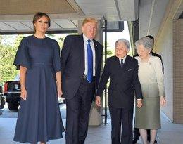 Melania Trump i jej stylizacje podczas wizyty w Japonii