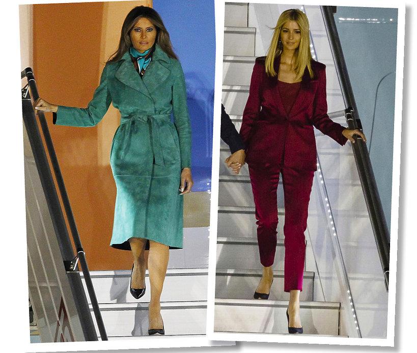 Melania Trump Ivanka stylizacje