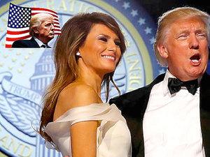 Melania Trump na Balu Inauguracyjnym