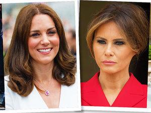 Melania Trump naśladuje styl księżną Kate