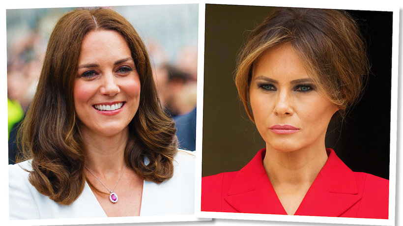 Melania Trump naśladuje styl księżną Kate- MAIN TOPIC