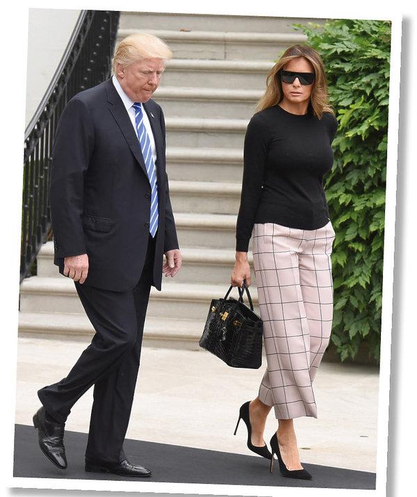 Melania Trump stylizacje