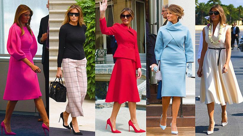 Melania Trump stylizcje