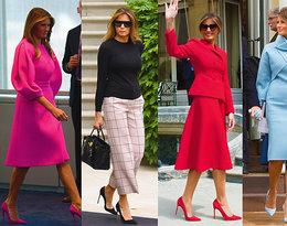 Melania Trump już rok jest Pierwszą Damą USA! Czy uważacie, że znalazła własny styl?