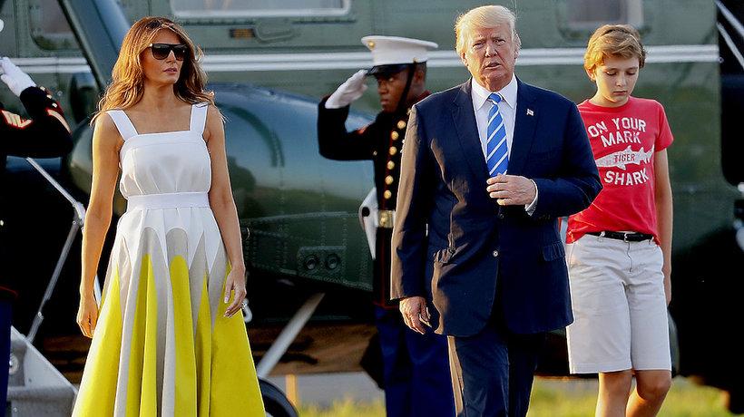 Melania Trump w sukience Delpozo