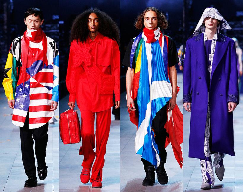 Męska kolekcja Louis Vuitton na jesień 2019