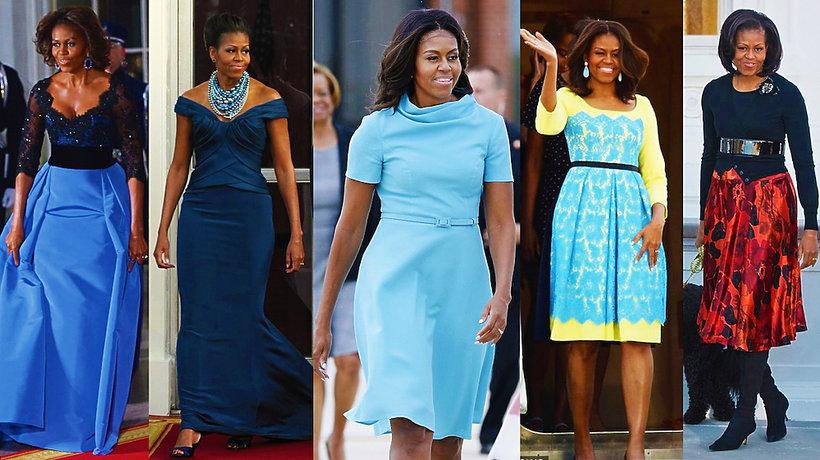 Michelle Obama urodziny stylizacje