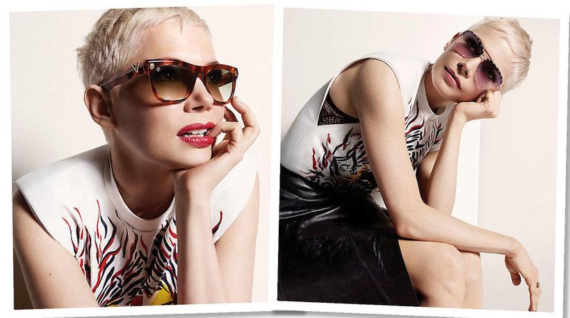Michelle Williams  w kampanii okularów Louis Vuitton na wiosnę/ lato 2017