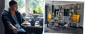 Nietuzinkowy apartament Łukasza Jemioła zachwyca jego gości. My odwiedziliśmy go z kamerą [WIDEO]