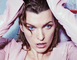Milla Jovovich została twarzą najnowszej kolekcji Balmain