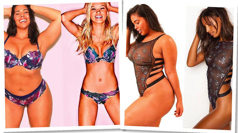 Modelki plus size wcielają się w Aniołki Victoria's Secret