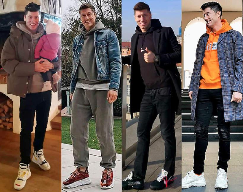 Modne sneakersy Robert Lewandowski jakie modele będą modne wiosną 2020