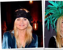 Monika Olejnik w spektakularnym kapeluszu na Balu Dziennikarzy! Jakie inne nakrycia głowy ma w swojej szafie?