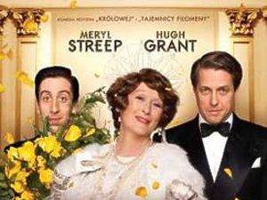 na zdjęciu Meryl Streep i dwóch panów