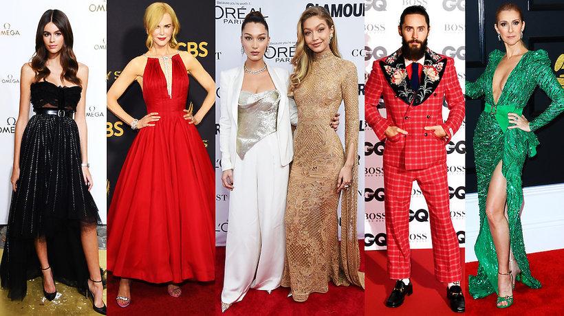najbardziej stylowe gwiazdy na świecie w roku 2017