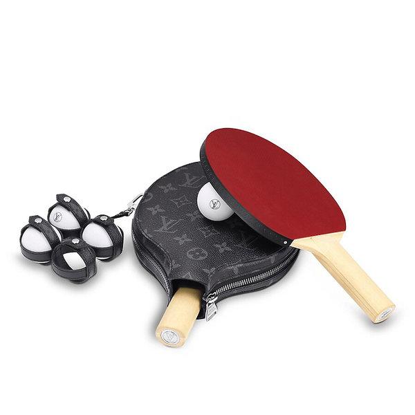 najdroższe rakietki do ping-ponga na świecie od Louis Vuitton