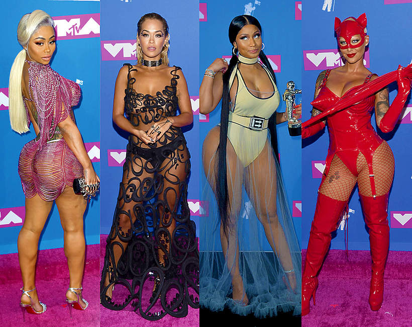 Najgorsze kreacje na MTV Video Music Awards 2018