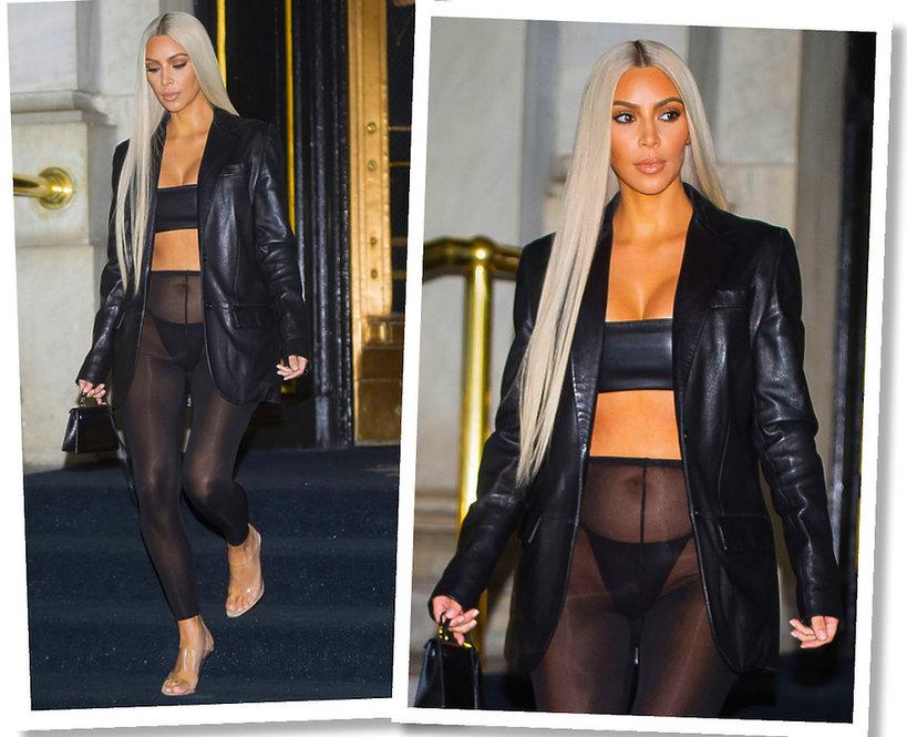 Najgorsze stylizacje Kim Kardashian