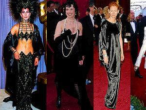 Najgorsze stylizacje w historii Oscarów