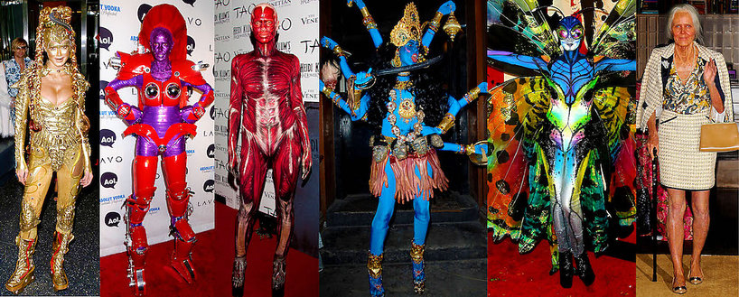 Najlepsze kostiumy Heidi Klum na Halloween
