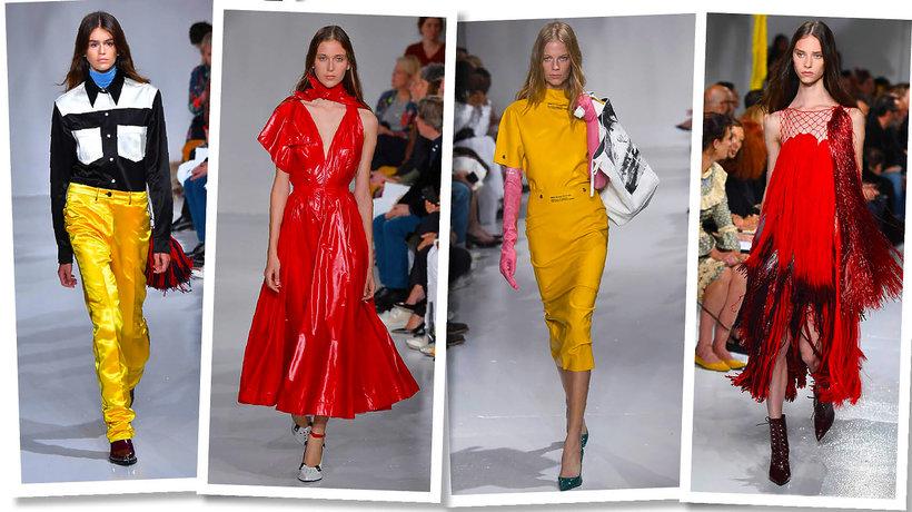 Najlepszy pokaz Calvin Klein wiosna 2018 trendy 2018