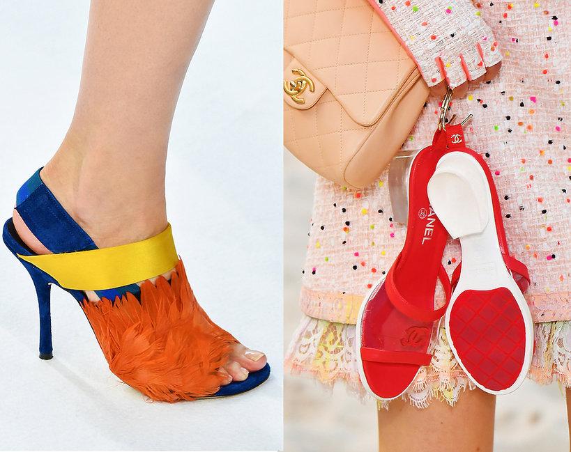 Najmodniejsze buty na wiosnę i lato 2019
