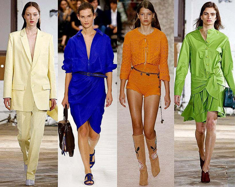 Najmodniejsze kolory na wiosnę 2019