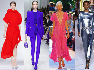 Najmodniejsze kolory na wiosnę lato 2018
