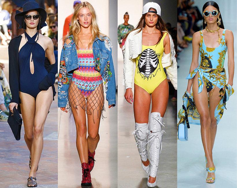 Najmodniejsze kostiumy kąpielowe na wiosnę/lato 2018