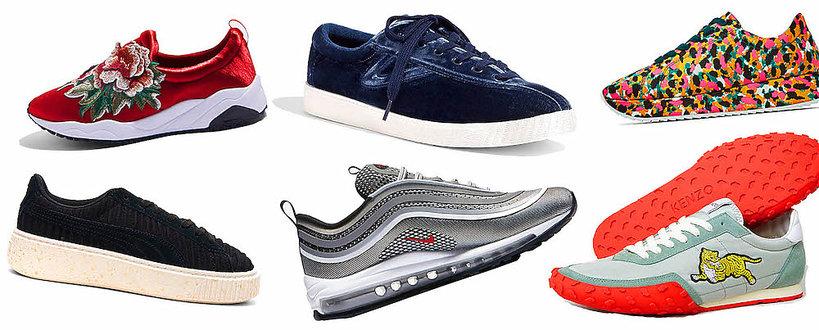Najmodniejsze sneakersy na jesień 2017