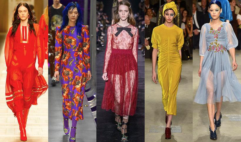 Najmodniejsze suknie na jesień 2017- MAIN TOPIC