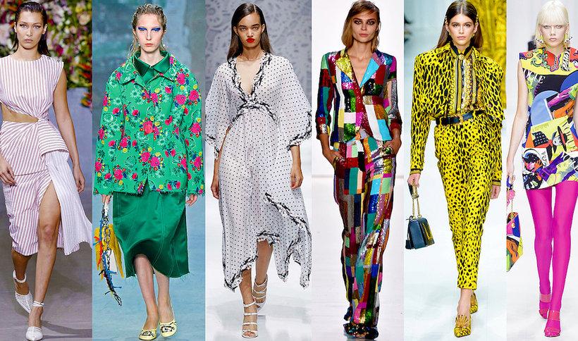 Najmodniejsze wzory, printy, desenie na wiosnę i lato 2018